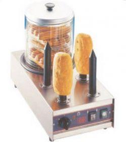 Hot Dog čtyřtrnový s nádobkou pro ohřev 4P