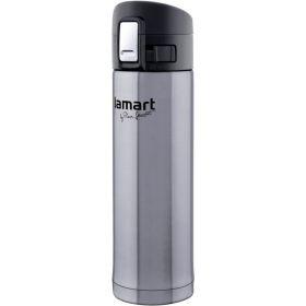 Termoska Lamart LT4008 BRANCHE 0,42L stříbrná-tmavá