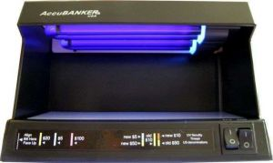D63 - Profi UV detektor 18W Counterfeit Cop - profesionální detektor bankovek