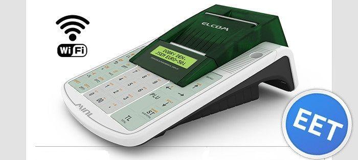 ELCOM Registrační pokladna EURO 50TEi Mini EET WIFI - Jednopásková