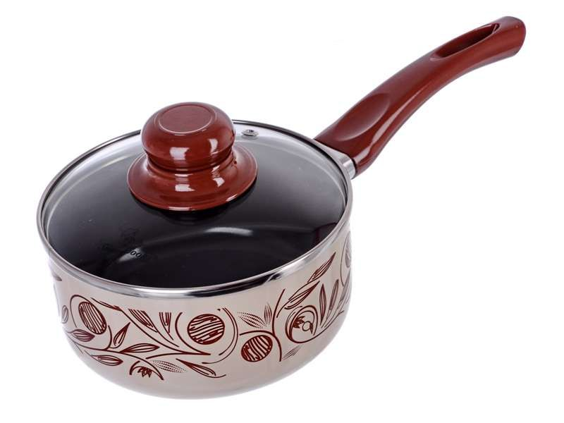 Smart Cook Rendlík s keramickým povrchem a skleněnou poklicí - keramický hrnec