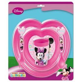 Dětská sada nádobí 5 dílná plastová, Minnie