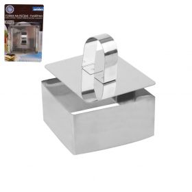 Forma na pečení a servírování tvořítko+píst čtverec