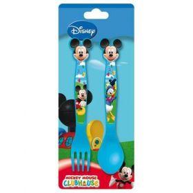 Příbor dětský 2 dílný plastový, Mickey Mouse