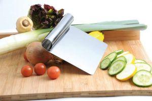 Kuchařská nerezová špachtle, rovná