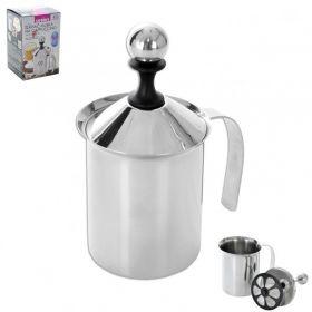 Zpěňovač mléka na Kapučíno - cappuccino - napěňovač nerezový
