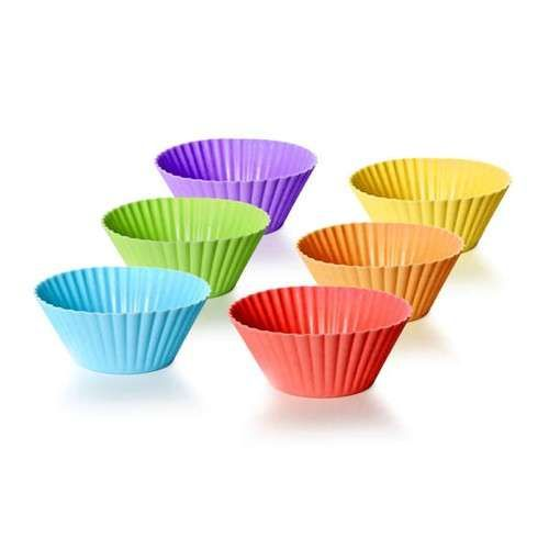 Banquet Sada silikonových košíčků 6 ks na pečení, Culinaria