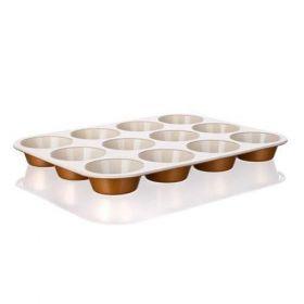 Pečící forma na muffins keramická 12KS 35x27x3 cm Gourmet Ceramia
