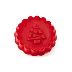Silikonové vykrajovátko TREE,Red Culinaria