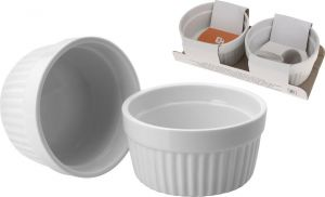 Zapékací miska na creme brulee a muffiny - misky pr. 9 cm sada 2 ks