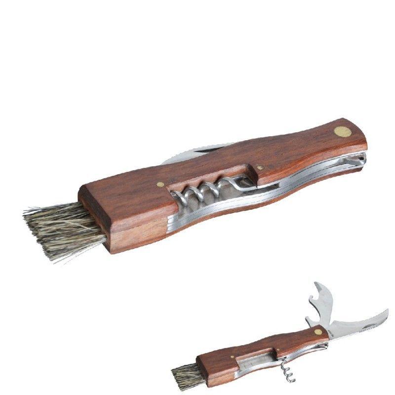 Houbařský nůž se štětečkem a otvíráky Orion