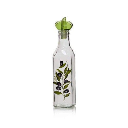 Láhev na olej Olive, dekorovaná 250 ml BANQUET
