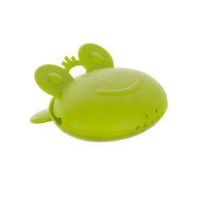 Silikonový odšťavovač na citrusy žabák 8x7x4cm CULINARIA green