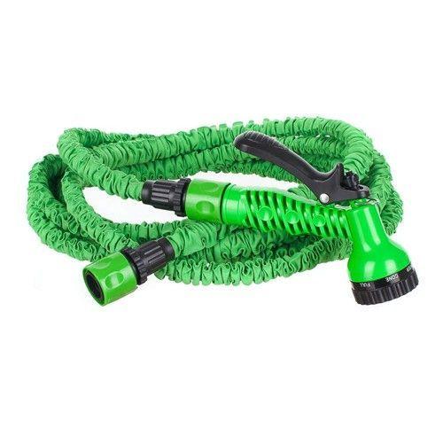 Natahovací hadice 15m - zahradní flexibilní hadice HAPPY GREEN