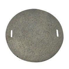Plotýnka plotna kruhová na sporák 21 cm litina Kinekus