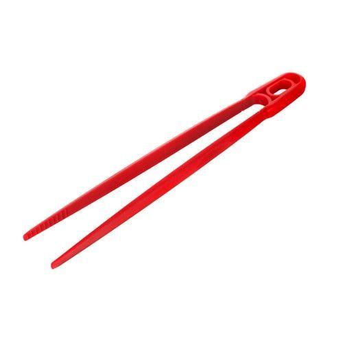 Silikonová pinzeta 30cm CULINARIA red Banquet