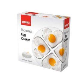 BANQUET Nádoba na vaření vajec do mikrovlnné trouby 19 cm