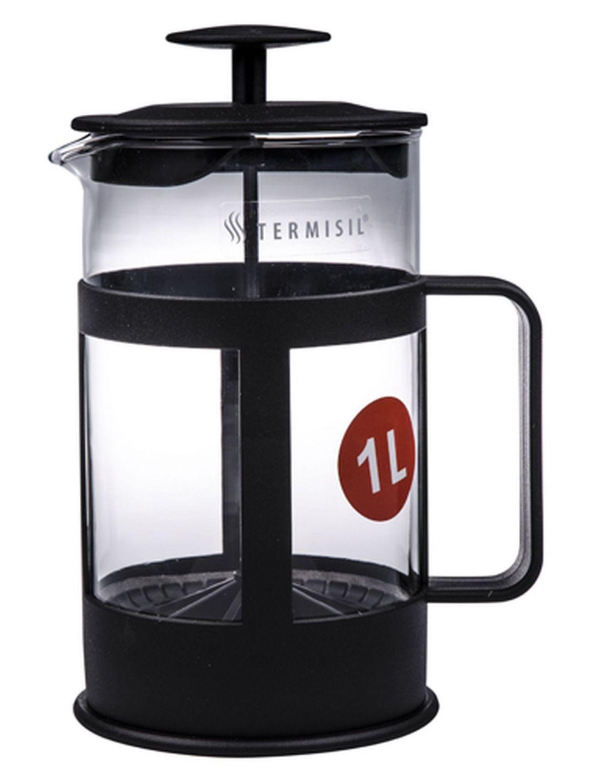 Florina Konvice na kávu nebo čaj se sítkem TERMISIL 1 l pro tzv. French press