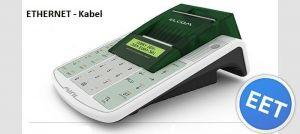 Registrační pokladna EURO 50TEi Mini EET LAN Ethernet - Jednopásková