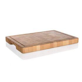 Masodeska prkénko krájecí dřevěné BRILLANTE Bamboo 35 x 25 x 3 cm, mozaika Banquet