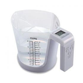 Odměrka s digitální váhou, 3 kg