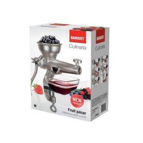 Odšťavovací mlýnek na ovoce CULINARIA - Odšťavňovač - lis na ovoce Banquet