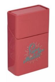 Pouzdro na krabičku cigaret ENJOY červené