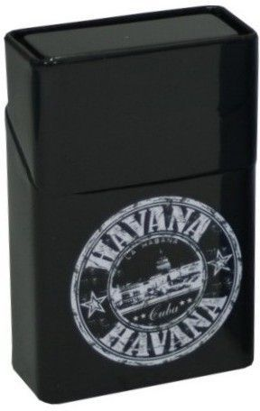 Pouzdro na krabičku cigaret HAVANA černé
