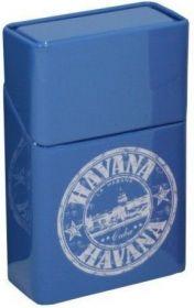 Pouzdro na krabičku cigaret HAVANA modré