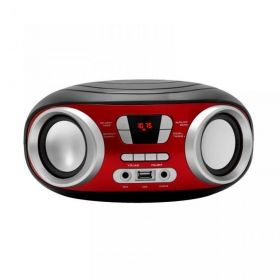 Přenosné FM radio stereo přehrávač mini Boombox Manta MM210
