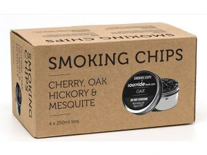 Sada 4 druhů dřevěných hoblin Smoking Gun Pro Sage, 4x 250 ml