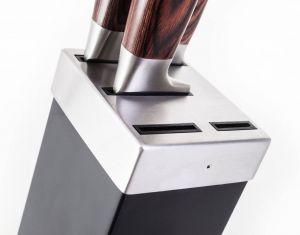 Sada nožů G21 Gourmet Dynamic 5 ks + černo-nerezový blok