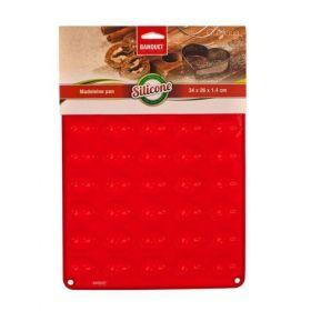 Silikonová foma - ořechy 40ks 34x26x1,4 cm, 165 gr CULINARIA red Banquet