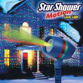 Star Shower Motion - Laserová lampa s pohyblivými světly MEDIASHOP
