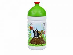 Zdravá láhev 0,5l KRTEK a jahody zelená