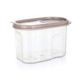 Dóza plastová dávkovací RIVA 1,2 l, bílá Banquet