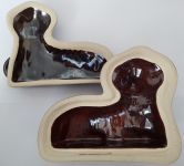 Forma na beránek keramický - dvoudílný malý