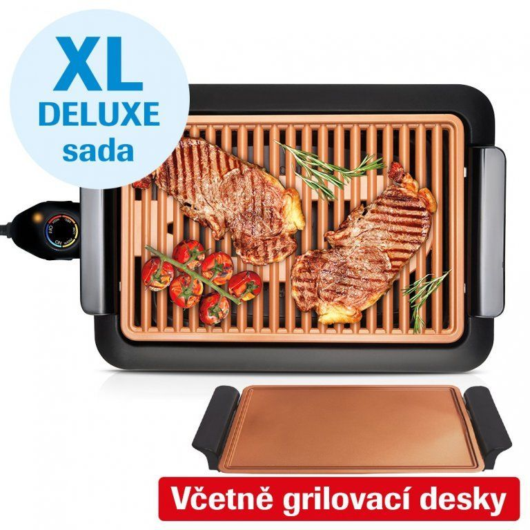 Livington Smokeless Grill Deluxe XL MEDIASHOP