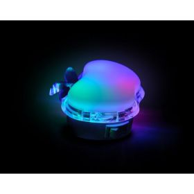 Solight WL904 noční LED světélko jablko, 0,5W, RGB, 230V, vypínač
