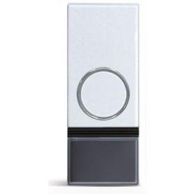 Solight bezdrátové tlačítko pro 1L28 a 1L29, 200m, bílé, learning code, kryt na jmenovku