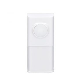 Solight bezdrátové tlačítko pro 1L54, 1L54DZ, 1L55, 120m, bílé, learning code, kryt na jmenovku