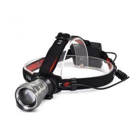 Solight LED čelová svítilna, 300lm, Cree XPG R5, fokus, 3x AA