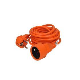 Solight prodlužovací kabel - spojka, 1 zásuvka, oranžová, 5m