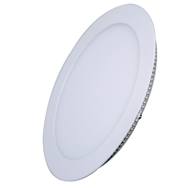 Solight LED mini panel, podhledový, 6W, 400lm, 3000K, tenký, kulatý, bílý