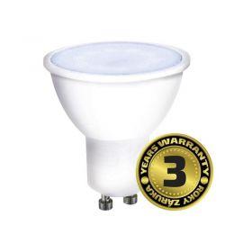 Solight LED žárovka, bodová , 7W, GU10, 6000K, 500lm, bílá