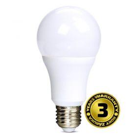 Solight LED žárovka, klasický tvar, 12W, E27, 3000K, 270°, 1010lm