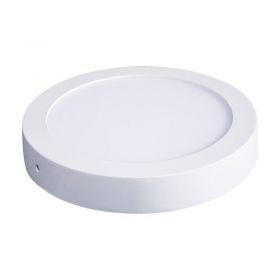 Solight LED panel přisazený, 24W, 1800lm, 4000K, kulatý, bílý