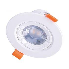 Solight LED podhledové světlo bodové, 9W, 720lm, 4000K, kulaté, bílé