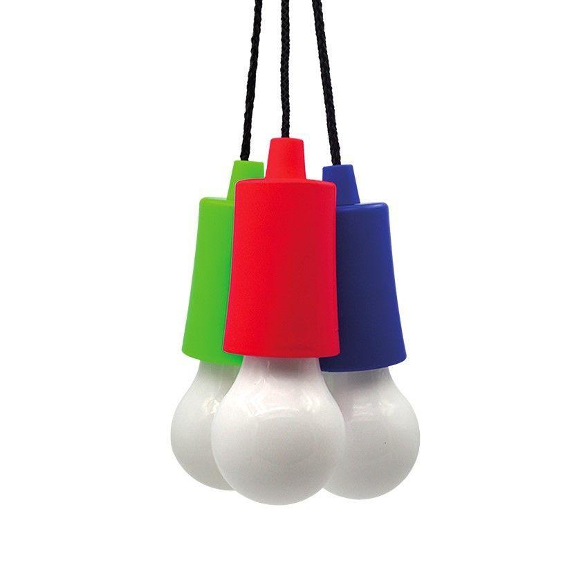 Solight LED svítilna - žárovka, 1W, 50lm, 3 x AAA, display box