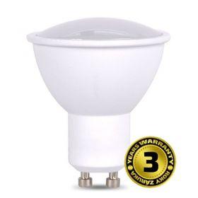 Solight LED žárovka, bodová , 7W, GU10, 4000K, 500lm, bílá